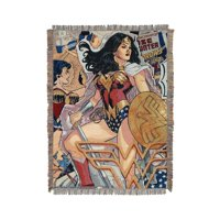 Wonder Woman Gone Wonder Woven Tapestry Classy Warrior DC