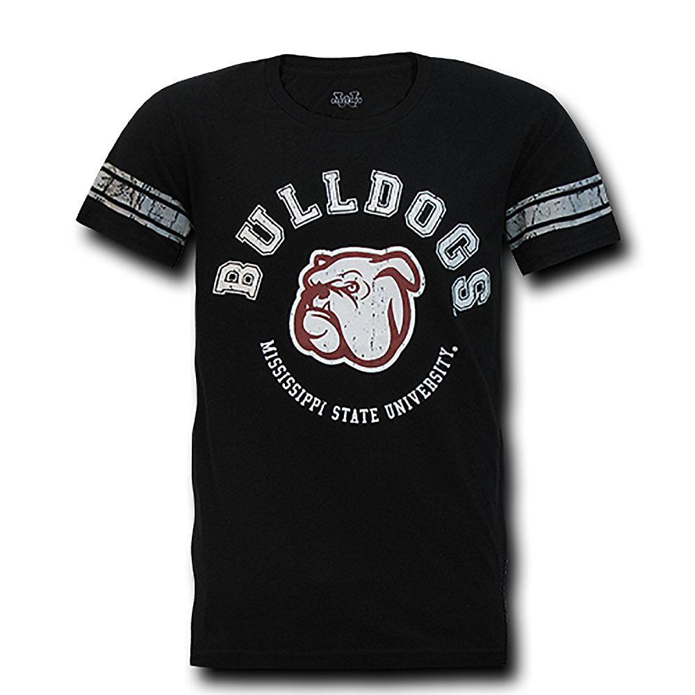 Mississippi State Bulldogs Football T-Shirt (Black)