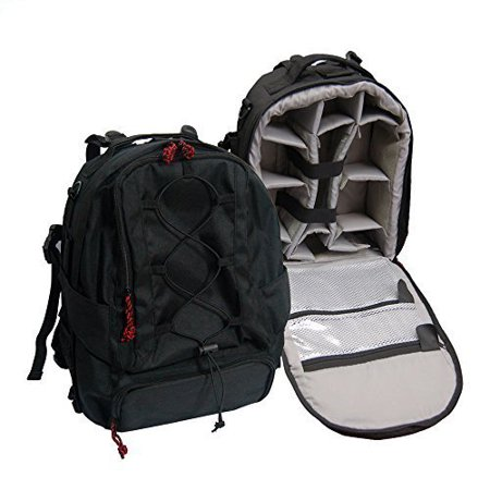 Water Resistant Premium Heavy Duty Backpack for DSLR Camera, Lens, Laptop, and Accessories Reinforced Seams by Loadstone Studio WMLS0584
