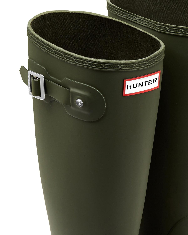 Hunter Women's Original Tall Rain 6) Boots (Dark Olive/ Size 6) Rain fba62a