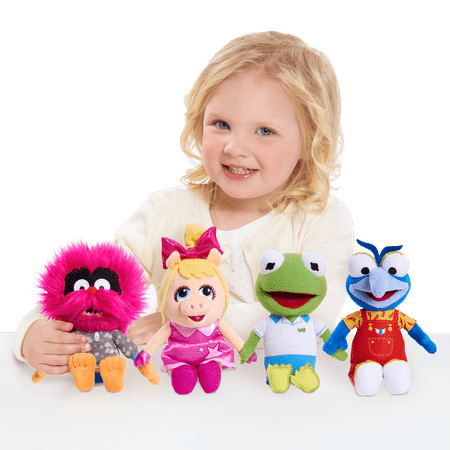 Disney Junior Muppet Babies Bean Plush- 4 pack Bundle