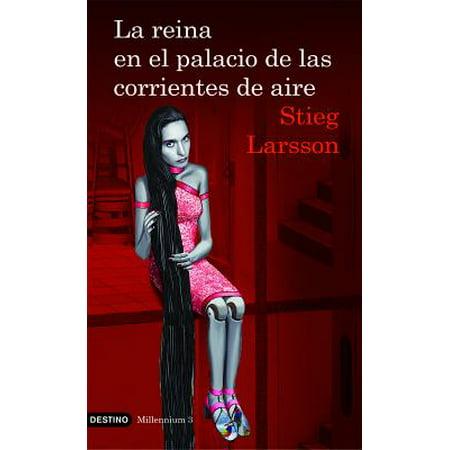 Millenium: La Reina En El Palacio de Las Corrientes de Aire: The Girl Who Kicked the Hornet's Nest (Paperback)