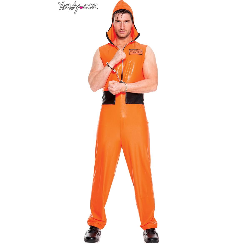 Men's Escaped Convict Costume