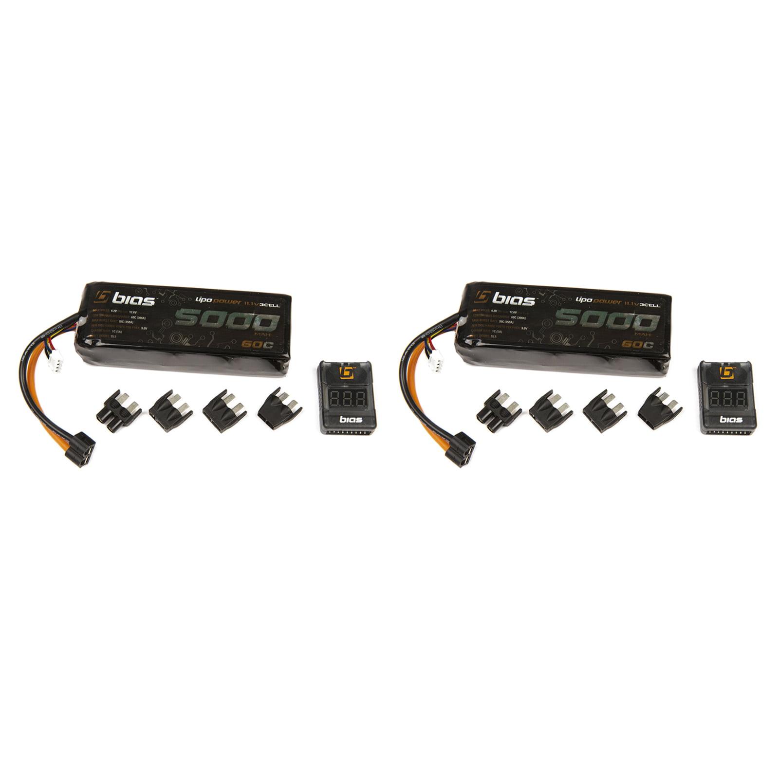 BIAS 60C 3S 5000mAh 11.1V LiPo Battery with UNI Plug (EC3...