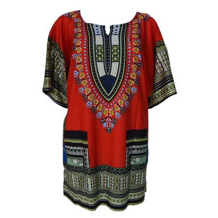 Marainbow Women African Festival Dashiki Shirt Kaftan Boho Hippe Gypsy Dress (Gypsy Dress Up Ideas)