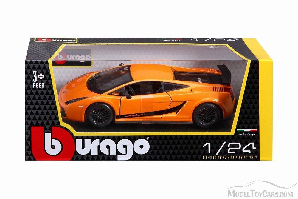 Orange 1//24 BBURAGO//BURAGO LAMBORGHINI GALLARDO SUPERLEGGERA