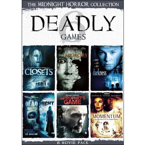 Platinum Disc Midnight Horror Collection-deadly Games [dvd/2discs Slimline]