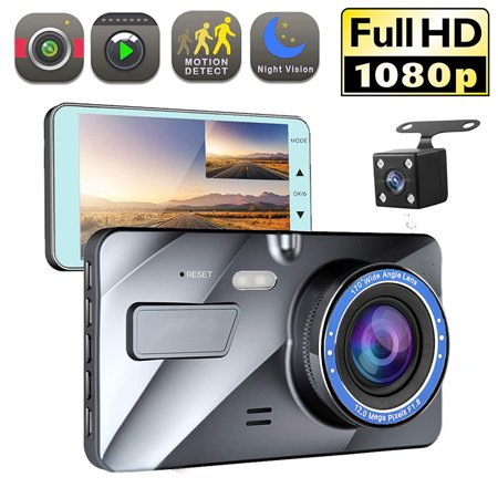 "4"" Vehicle 1080P Car Dashboard DVR Camera Video Recorder G-Sensor Dash Cam - image 8 de 8"