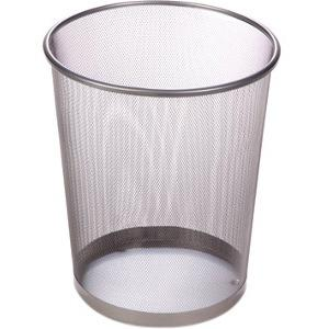 Honey Can Do 4.75-Gallon Round Mesh Metal Trash Basket, Multicolor by Generic