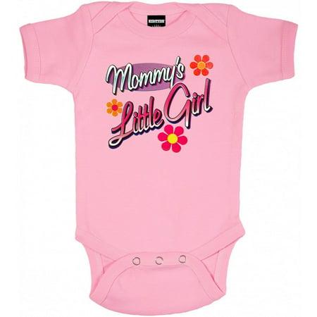 Mommy's Little Girl One Piece Baby Bodysuit Girls One Piece Bodysuit