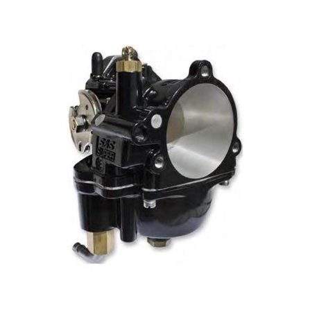 S&S Cycle 110-0099 Black Super E Carburetor (Super Carburetor)