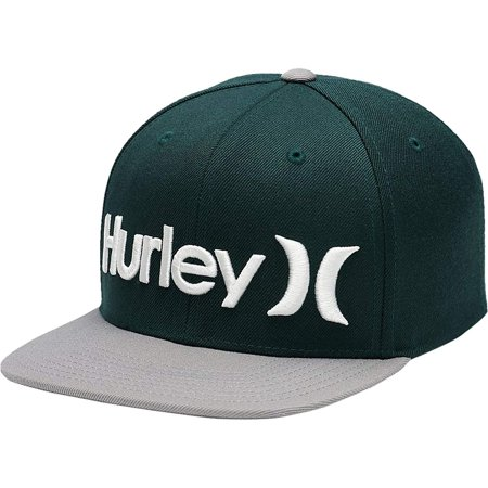 Hurley Men's One and Only Snapback Hat Cap - Outdoor Green ()