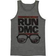 Run DMC Men's  City View Mens Tank Grey