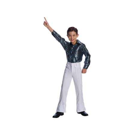 Halloween Costumes In Under 10 Minutes (Boy's Disco Pants Costume)