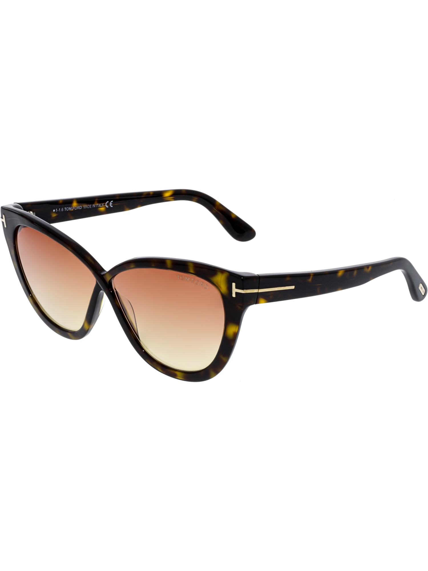 ec7045cc1c6 Tom Ford Women s Arabella FT0511-52B-59 Brown Cat Eye Sunglasses