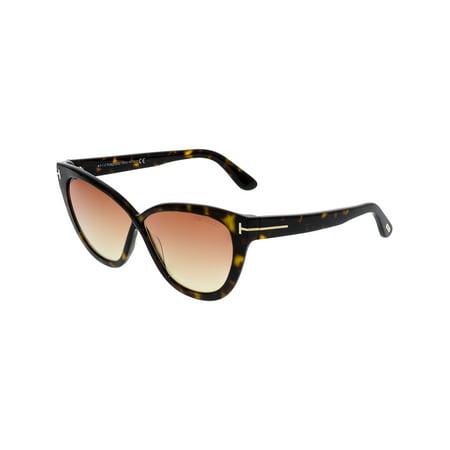 Tom Ford Women's Arabella FT0511-52B-59 Brown Cat Eye (Tom Ford Cat Eye Sunglasses)