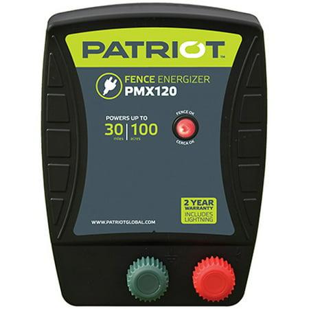 Patriot PMX120 Fence Energizer, 1.2 Joule