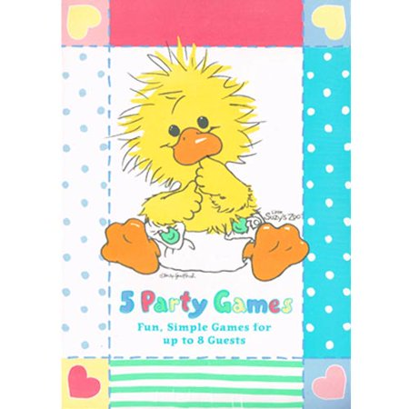 Little Suzy's Zoo Vintage Baby Shower Game Book (1ct) (Suzy's Zoo Halloween)