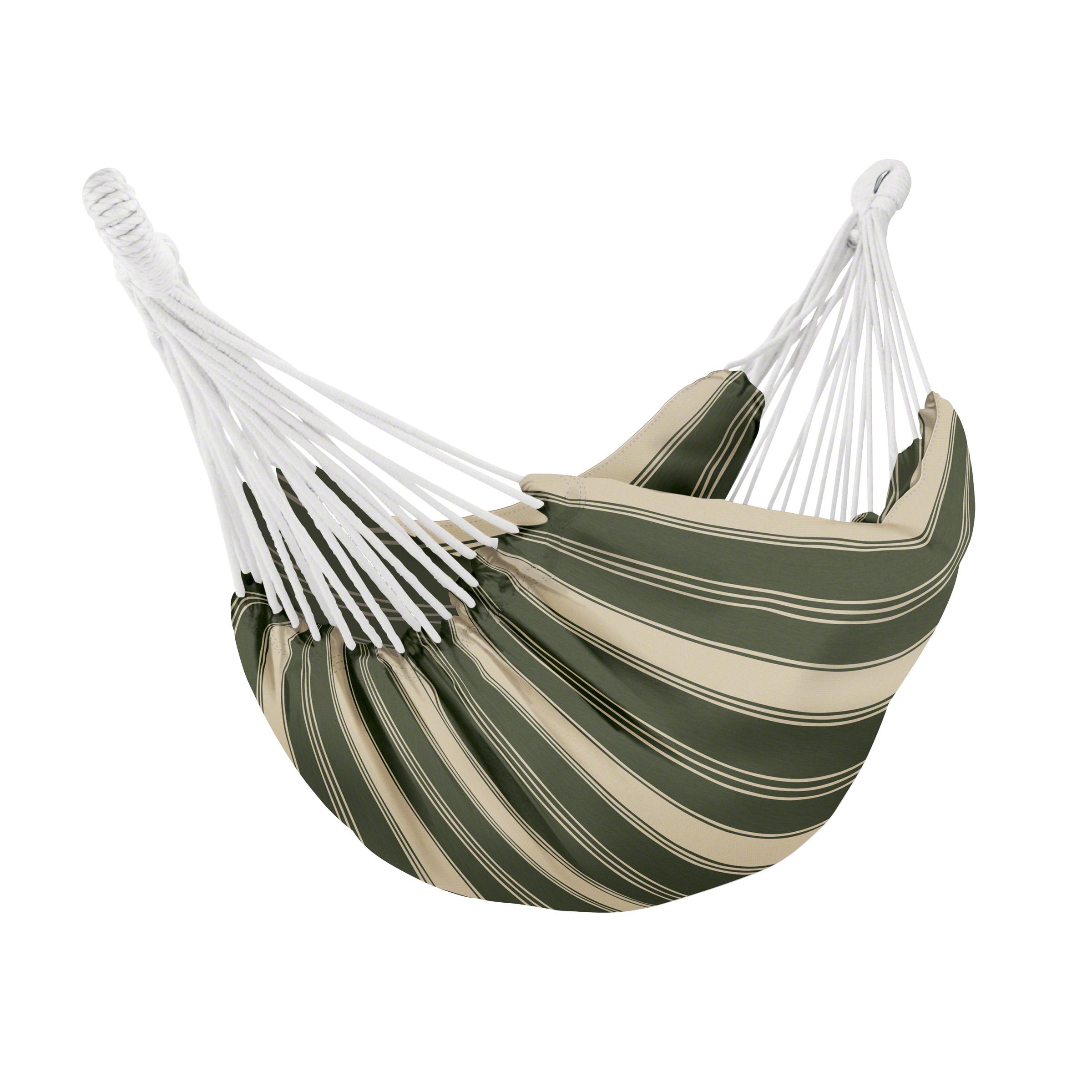 Classic Accessories Montlake™ FadeSafe™ Brazilian Hammock, Heather Fern Green Stripe