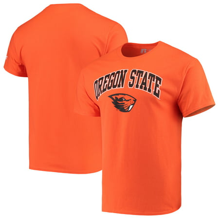 Oregon State Beavers Store - Men's Russell Orange Oregon State Beavers Core Print T-Shirt