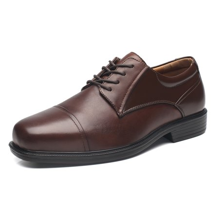 b1c282a50 La Milano - Wide Width Mens Oxford Shoes La Milano Men s Dress Shoes -  Walmart.com