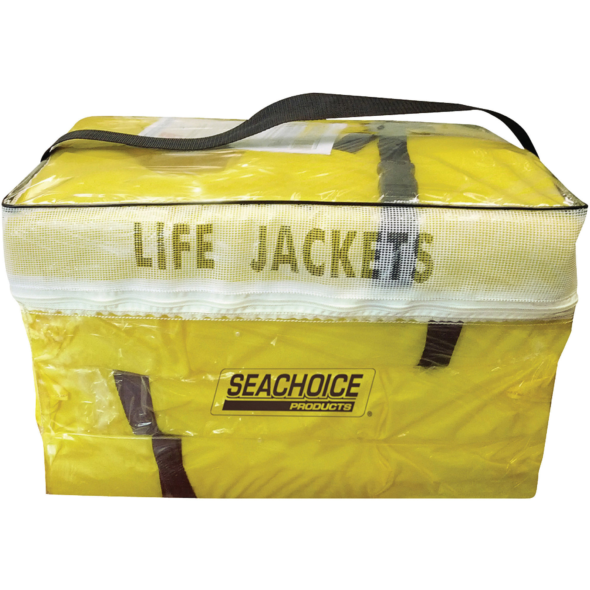 Click here to buy Seachoice Adult Universal Type II Life Vest Pack, Yellow , 4-Pack by Seachoice.