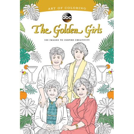Art of Coloring: Golden Girls: 100 Images to Inspire - Halloween Coloring Pages For Girls