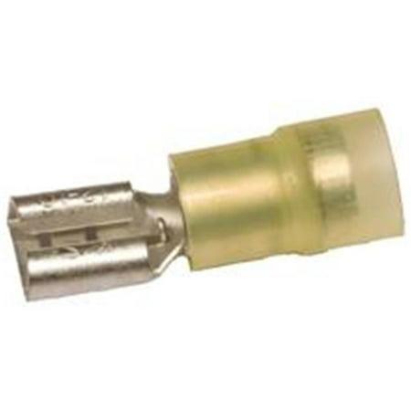 Morris Products 11930 nylon - double isolation - sertir femelles d-connexions - 12-10 fils, 0,02 0 X.187 Tab, paquet de 100 - image 1 de 1