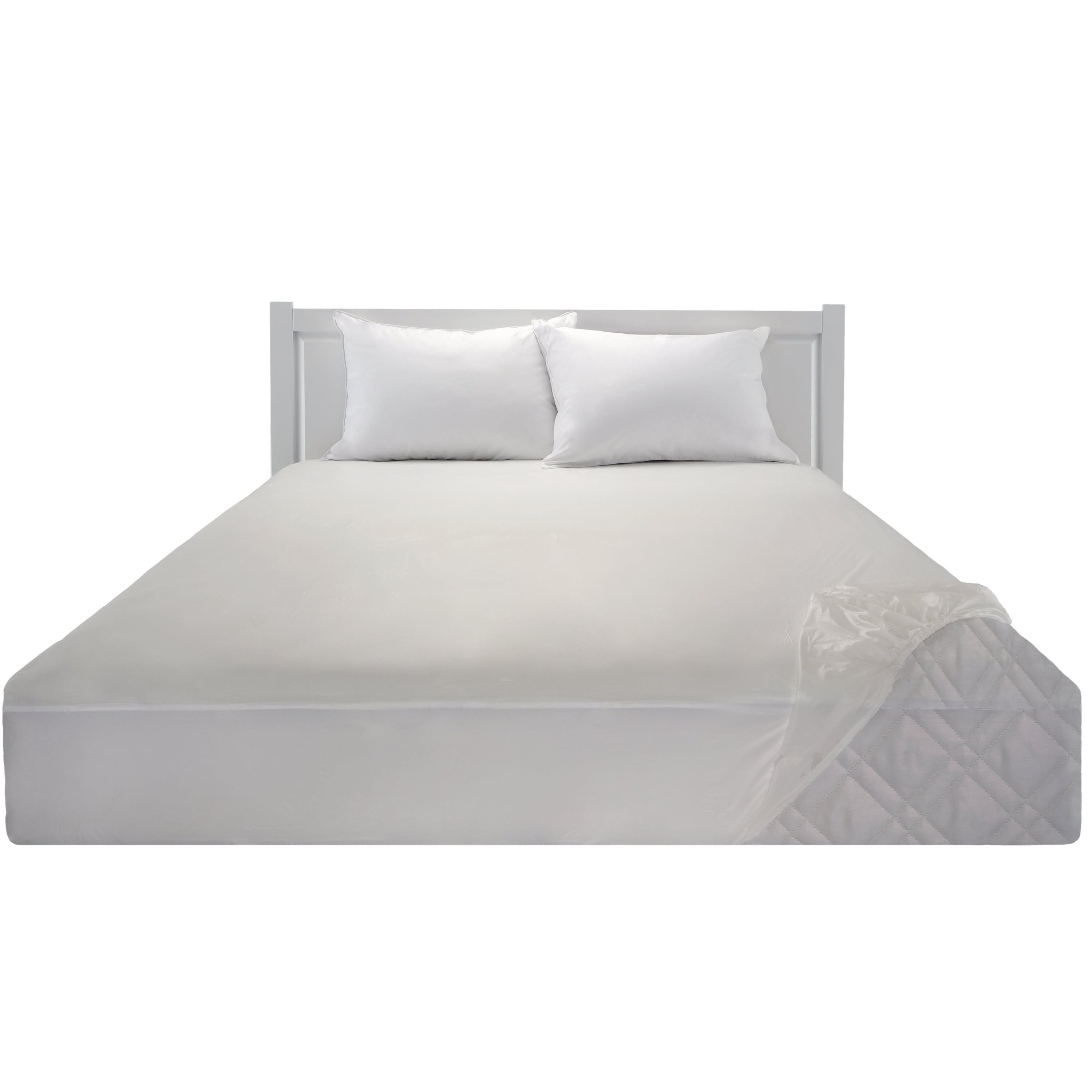 Mainstays Waterproof Fitted Vinyl Mattress Protector   Walmart.com
