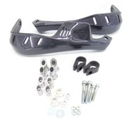 """Carbon ATV Handguards 7/8"""" Bar Yamaha YFM 400 450 Grizzly MODIFICATION REQUIRED"""