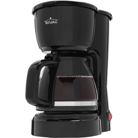 Rival Coffee Maker How To Use : Rival Pl Rv 5 Cup Coffee Maker - Walmart.com