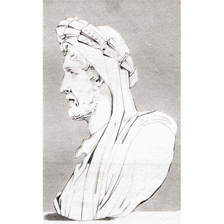 Antoninus Pius 86 Stretched Canvas - Ken Welsh  Design Pics (22 x 36)