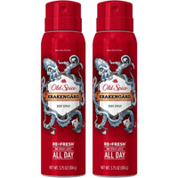 (2 Pack) Old Spice Body Spray Wild Collection Krakengard 3.75 oz
