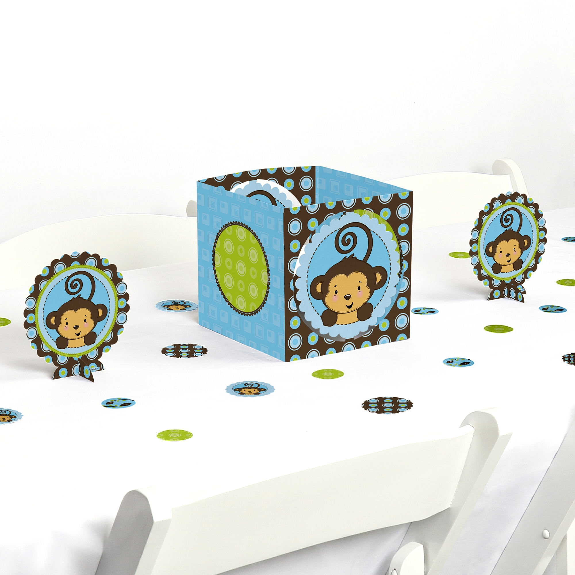 Monkey Boy - Party Centerpiece & Table Decoration Kit