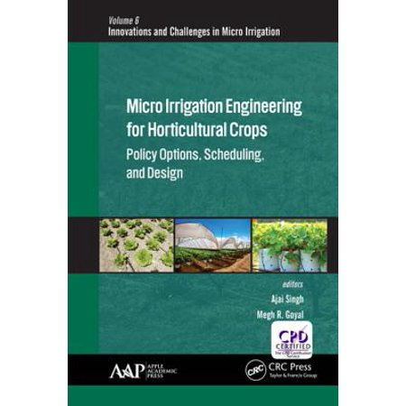 - Micro Irrigation Engineering for Horticultural Crops - eBook