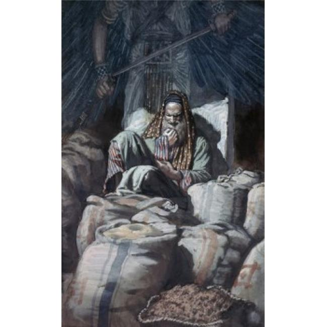 Posterazzi SAL99979 Man Who Laid Up Treasure James Tissot 1836-1902 French Poster Print - 18 x 24 in. - image 1 of 1