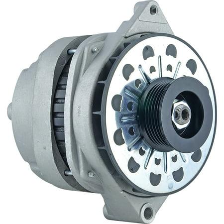 - New Alternator for 4.6L Cadillac DeVille 98 99 1998 1999 210-5185, 10464088, 10464426, 10480296, 10480313 11Clock 140Amp External Fan Type Solid Pulley Type Internal Regulator CW Rotation 12V