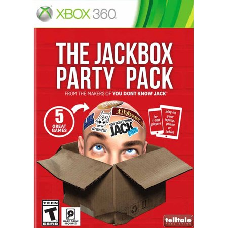 Telltale Games The Jackbox Party Pack (Xbox 360)