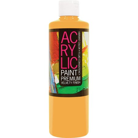 how to make indian yellow acrylic paint