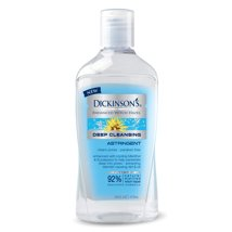 Facial Toner & Astringent: Dickinson's Deep Cleansing Witch Hazel Astringent