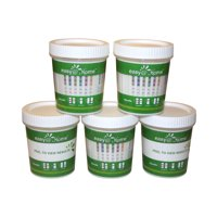 (5 Pack) Easy@Home 12 Panel Instant Urine Drug Test Cup  ECDOA-7124
