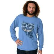 Jesus Long Sleeve Tees Shirts T-Shirts Forgiven Christ Religious Christian