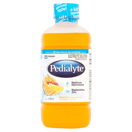 Pedialyte Mixed Fruit Electrolyte Solution 8 x 1.1qt (2.11gal)