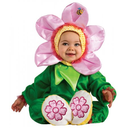 Pink Pansy Baby Infant Costume - Newborn