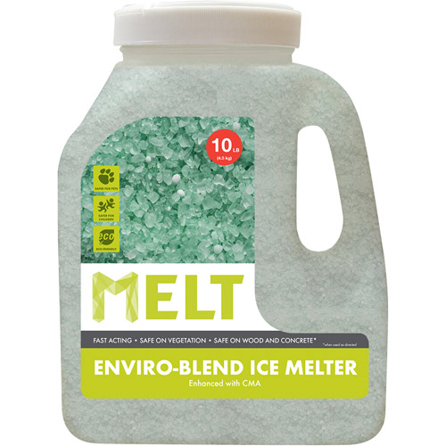 Snow Joe MELT Premium Enviro-Blend Ice Melter w/ CMA (10 lb. Jug) – MELT10EB-J