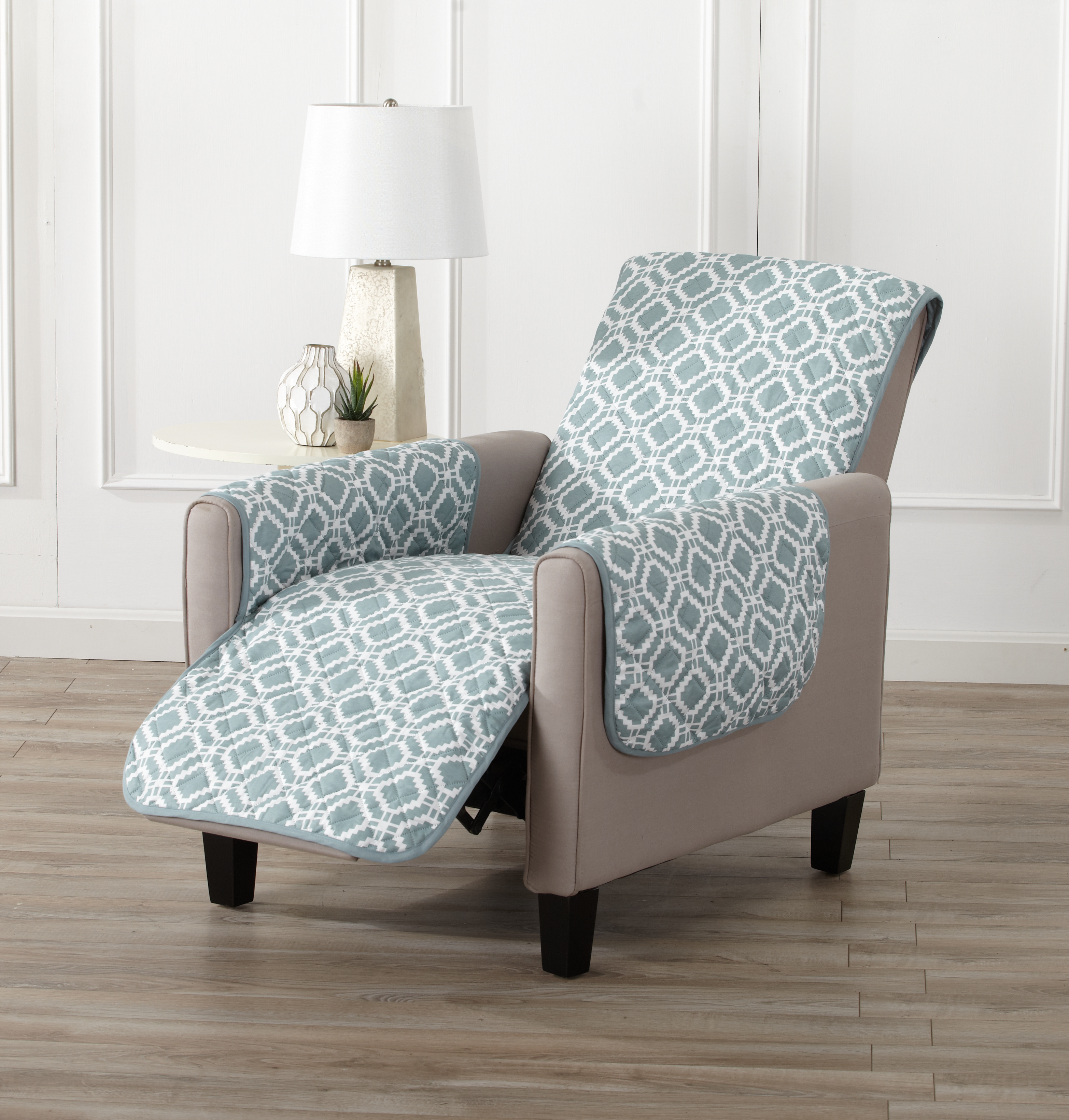 Liliana Collection Reversible Furniture Protector By Home Fashion Designs
