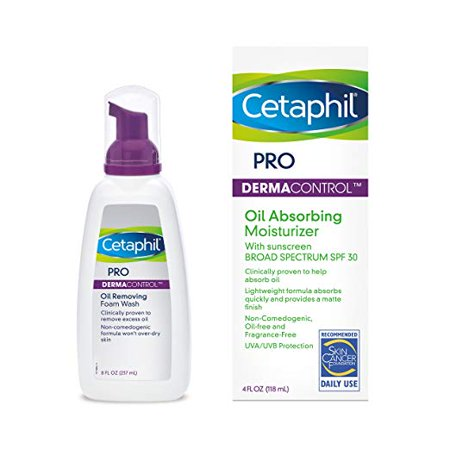 Cetaphil Pro Oil Removing Foam Wash, Face Wash For Oily Skin, 8