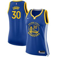 Stephen Curry Golden State Warriors Nike Women's Finished Swingman Jersey - Icon Edition - Royal