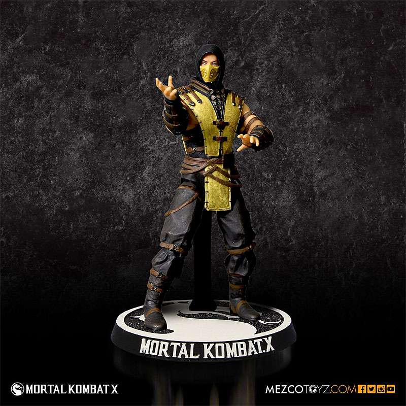 Mortal Kombat X Series 1 Scorpion Action Figure