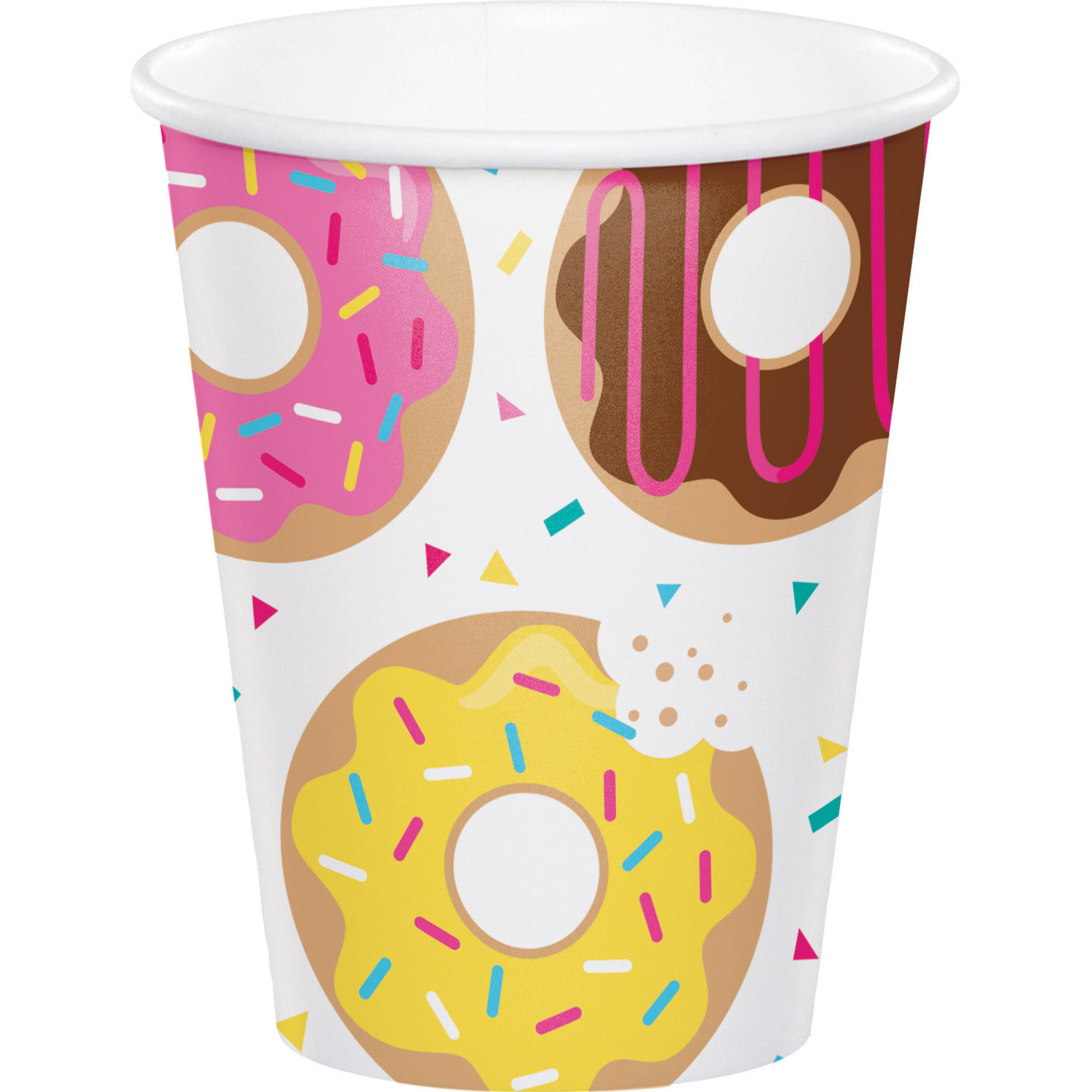 Donut Time Cups, 8 pk